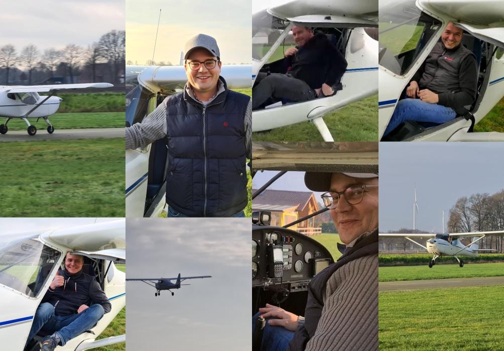 Flugschüler absolvieren Soloflüge