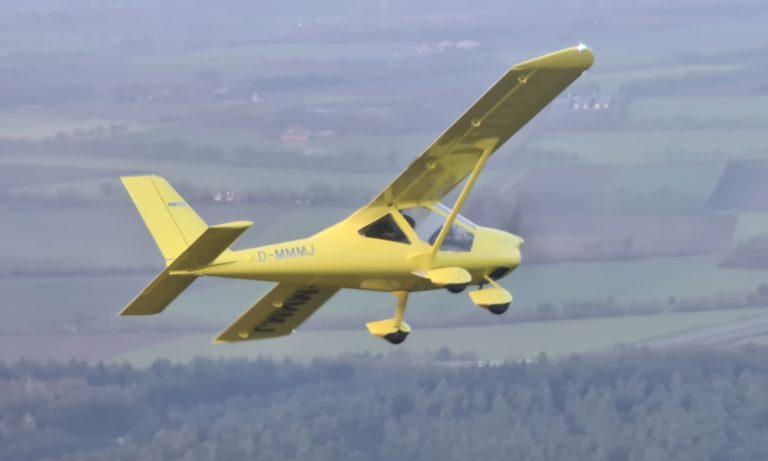 A32 aus der Luft fotografiert