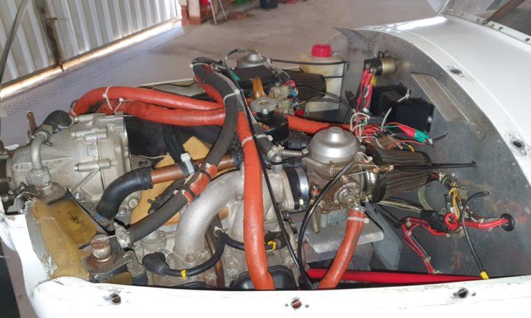 Rotax Motor der FK9