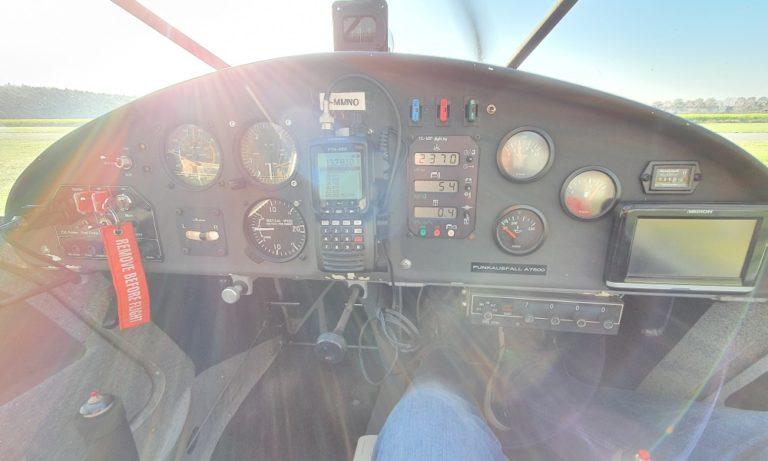 Cockpit der FK9