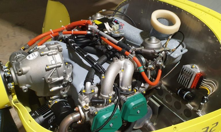 Rotax Motor der A32